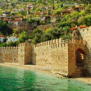 Luxus in der Türkei: 7 Tage Alanya im TOP 5* Hotel mit All Inclusive, Flug, Transfer & Zug nur 341€