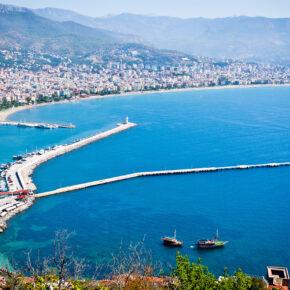 Langes Wochenende in der Türkei: 4 Tage im TOP 5* Hotel mit All Inclusive, Flug, Transfer & Zug nur 169€