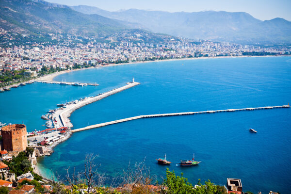 Türkei Alanya Küste