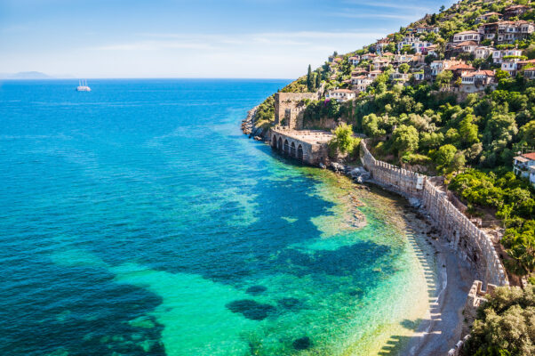 beste Reisezeit für die türkische Riviera