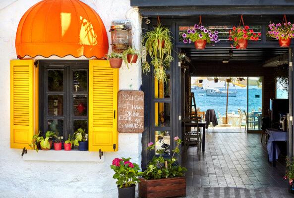 Türkei Bodurm Cafe