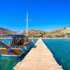 Single in Bodrum: 7 Tage im TOP 4* Hotel mit All Inclusive, Flug, Transfer & Zug nur 304€