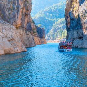 7 Tage Luxus an der türkischen Riviera im TOP 5* Hotel mit All Inclusive, Flug, Transfer & Zug nur 213€