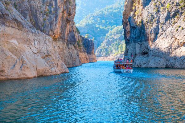 Türkei Manavgat Schiff
