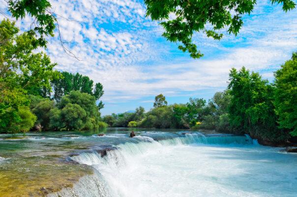 Türkei Manavgat Wasserfall