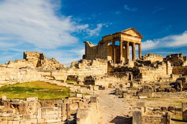 Tunesien Ruine