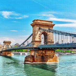 Kurztrip Budapest: 4 Tage mit 3* Hotel in der Nähe zum Spa & Flug nur 72€