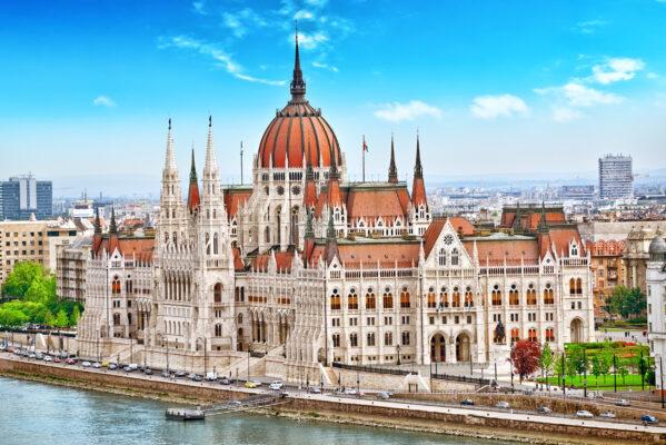 Ungarn Budapest Parlament