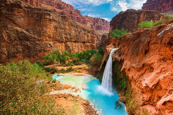 USA Grand Canyon Havasu Falls