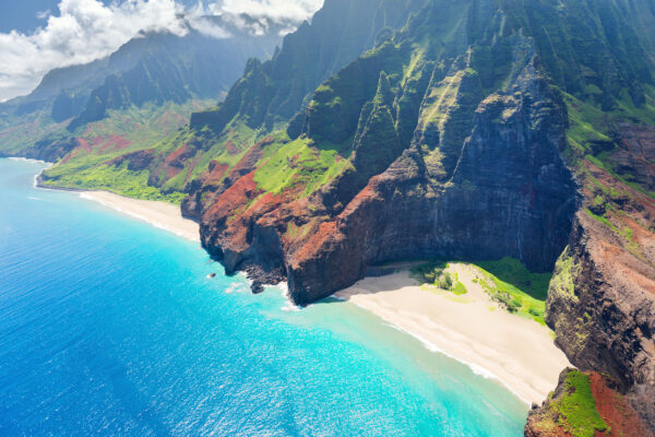 USA Hawaii Na Pali Küste