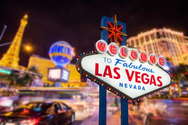 USA Las Vegas Sign