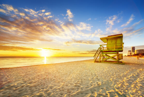 USA Miami Beach Sunrise