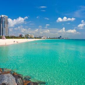 Party Trip USA: 8 Tage Miami Beach in TOP Strandunterkunft mit Halbpension & Flug nur 474€