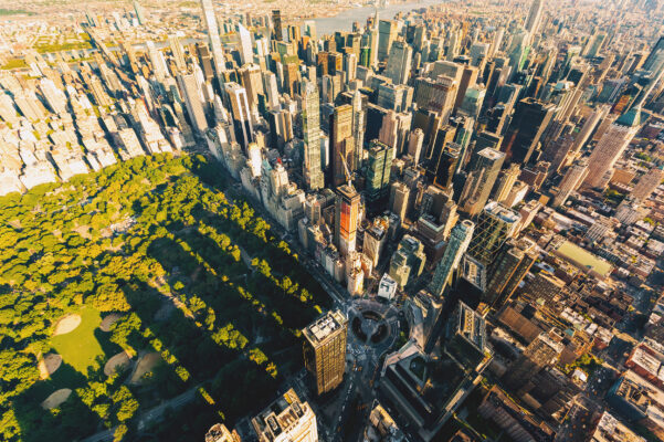USA New York Central Park Top View