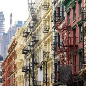 USA New York Fassaden