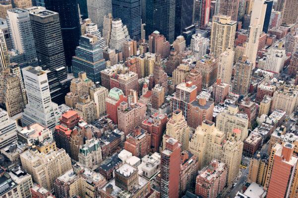 USA New York Häuser