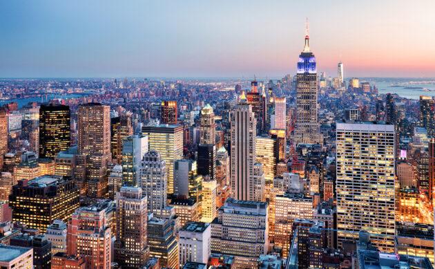 New York Manhattan Nacht