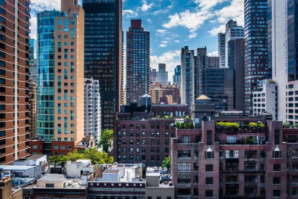 USA New York Rooftop