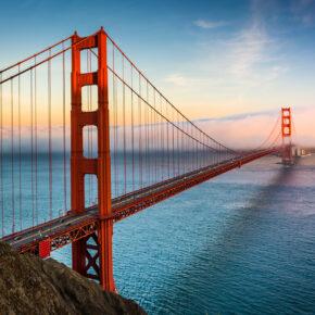 USA San Francisco Bridge