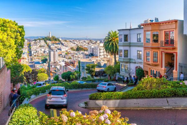 USA San Francisco Street