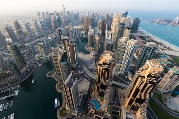 VAE Dubai von oben