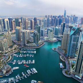 Krasser Infinity-Pool in Dubai: 6 Tage inkl. TOP 5* Luxus-Hotel mit Frühstück, Flug, Transfer & Zug nur 840€