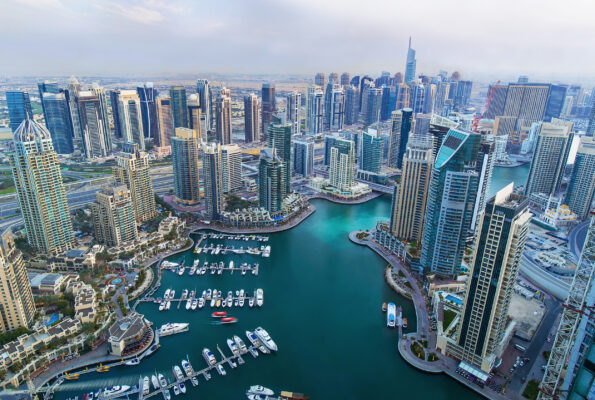 VAE Dubai Wasser