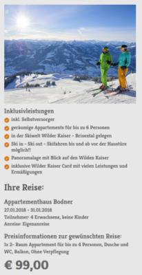 5 Tage Wilder Kaiser