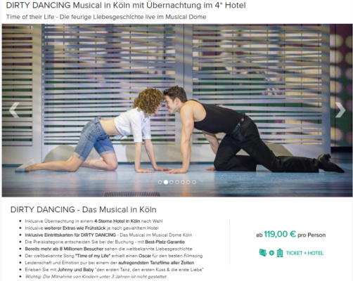 2 Tage Dirty Dancing