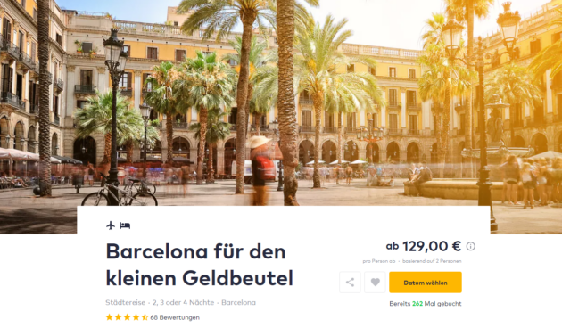 3 Tage Barcelona Deal