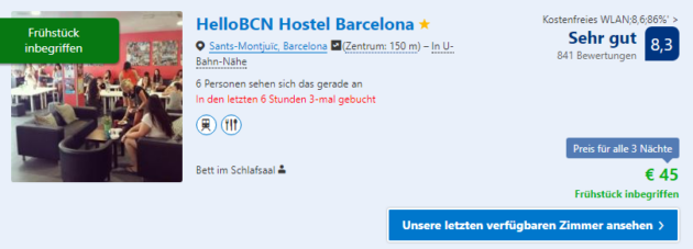 4 Tage Barcelona