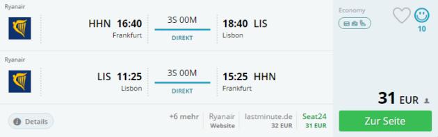 4 Tage Lissabon