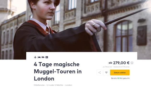 4 Tage London