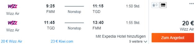 8 Tage Montenegro
