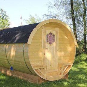 Ab zum Glamping: 3 Tage im coolen Holzfass in Österreich an der Donau inkl. Extras nur 60€
