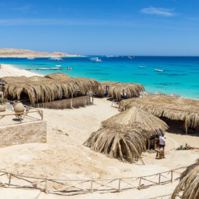 Single-Deal: 7 Tage Hurghada im 5* Hotel mit All Inclusive, Flug, Transfer & Zug nur 336€