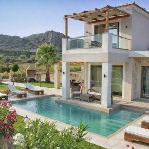 Luxus auf Kreta: 8 Tage in TOP Villa mit privatem Pool & Meerblick für 196€