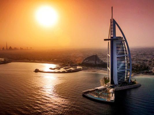 Burj Al Arab Jumeirah Außen