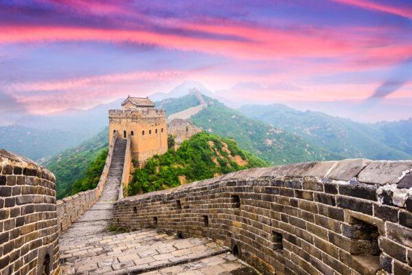 China Mauer Jinshanling