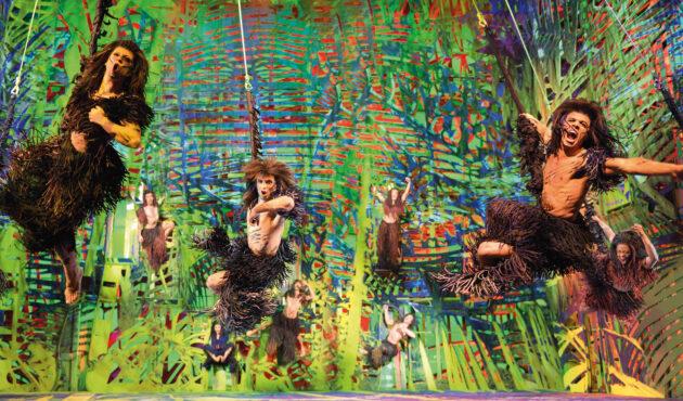 Disneys Musical Tarzan Affen schwingen