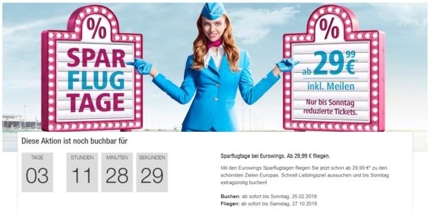 Eurowings Flüge