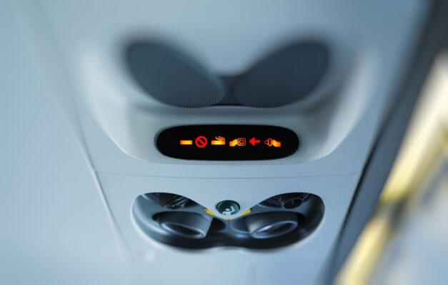 Flugzeug Rauchsymbol
