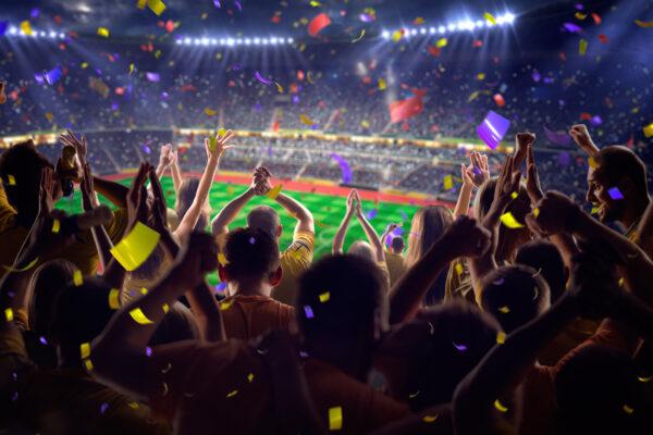 Fussball Fans Jubel
