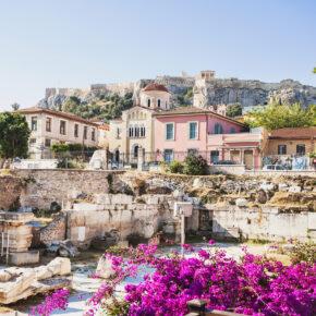 Wochenende in Athen: 3 Tage mit 4* Hotel, Frühstück & Flug nur 73€
