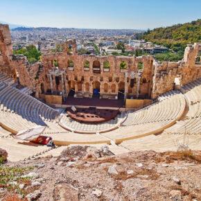 Wochenendtrip nach Athen: 4 Tage mit zentraler TOP Unterkunft & Flug nur 87€