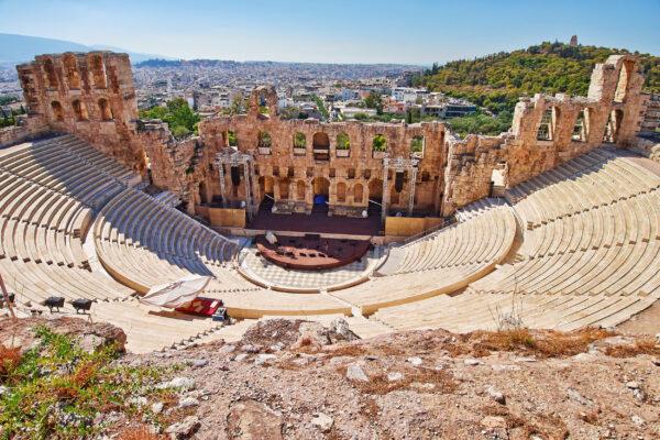 Griechenland Athen Ruine