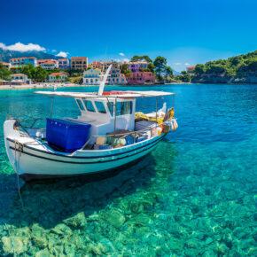Kefalonia Traum: 8 Tage auf der griechischen Insel mit TOP Hotel & Flug für 141€