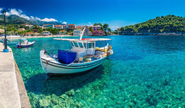 Griechenland Kefalonia Boot