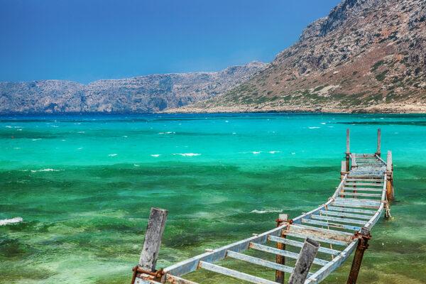 Griechenland Kreta Balos Bay