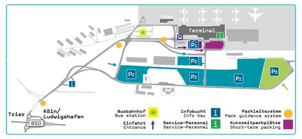 Frankfurt Hahn Flughafen Parkplatz